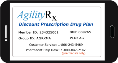 Download AgilityRx Discount Card in Google Play Store
